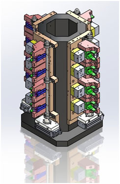 Exemple de système de bridage pour CU