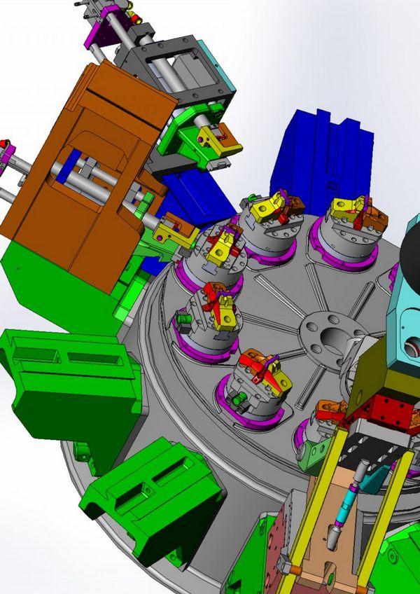 Solution usinage machine transfert specifique